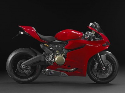 Ducati 899 Panigale ABS 2015 Rot