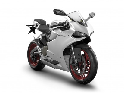 Ducati 899 Panigale ABS 2015 Weiss