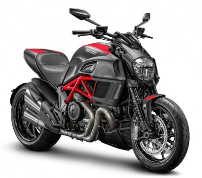 Ducati Diavel Carbon ABS 2015 Rot