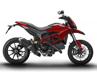 Ducati Hypermotard 821 ABS 2015 Rot