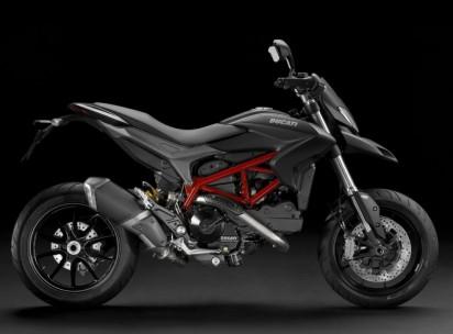 Ducati Hypermotard 821 ABS 2015 Schwarz