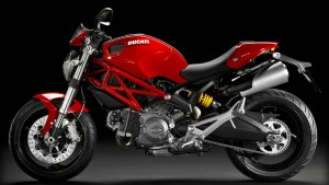 Ducati Monster 696 2014 Rot