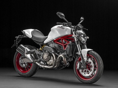 Ducati Monster 821 ABS 2015 Weiss