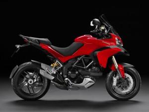 Ducati Multistrada 1200 ST 2014 Rot
