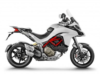 Ducati Multistrada 1200 S ABS 2015 Weiss