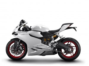 Ducati 899 Panigale 2014 Weiss