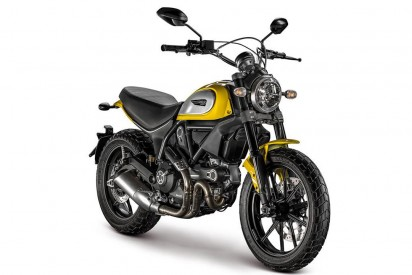 Ducati Scrambler Full Throttle ABS 2015 Gelb