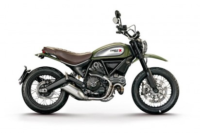 Ducati Scrambler Full Throttle ABS 2015 Gruen