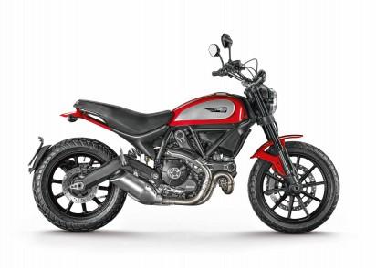 Ducati Scrambler Icon ABS 2015 Rot