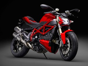 Ducati Streetfighter 848 2014 Rot
