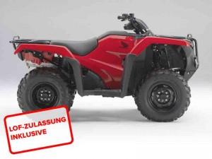 Honda TRX 500 FEE 2014 Rot