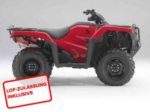 Honda TRX 500 FME 2014 Rot
