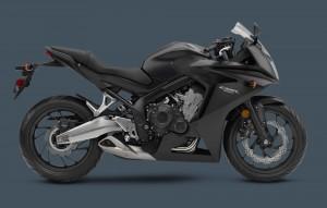 Honda CBR 650 F ABS 2014 Schwarz
