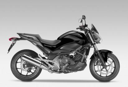 Honda NC 750 S ABS 2014 Schwarz