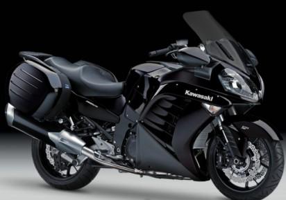 Kawasaki GTR 1400 A 2014 Schwarz
