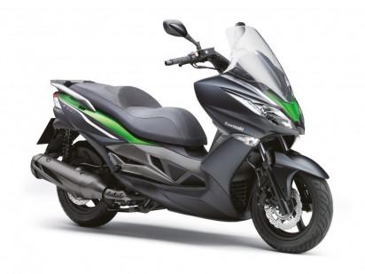 Kawasaki SC 300 J ABS 2014 Schwarz