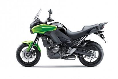Kawasaki Versys 1000 ABS 2014 grün
