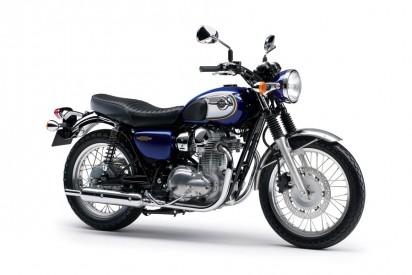 Kawasaki W800 2014 Blau