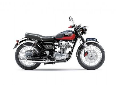Kawasaki W800 2015 Rot