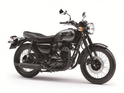 Kawasaki W800 SE 2015 Schwarz