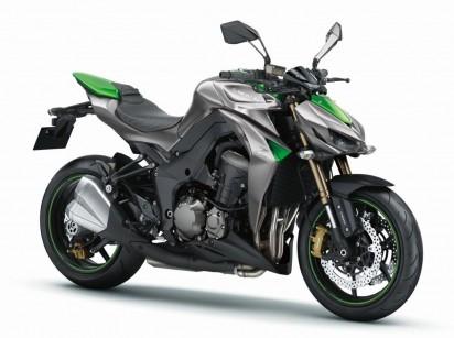 Kawasaki Z1000 ABS 2015 Gruen