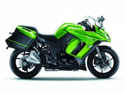 Kawasaki Z1000 SX ABS 2015 Gruen