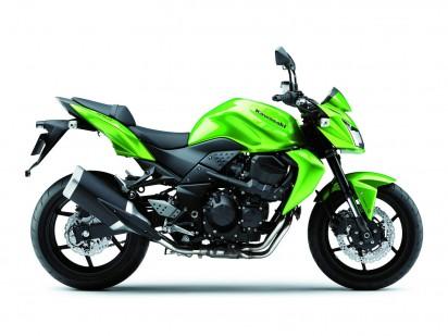 Kawasaki Z750 2012 grün