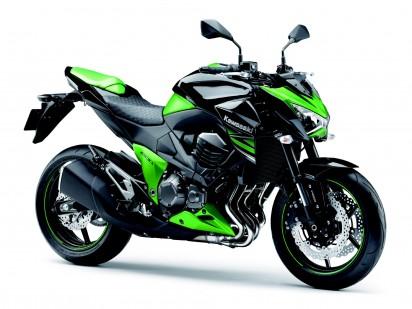 Kawasaki Z800 -ABS 2014 grün