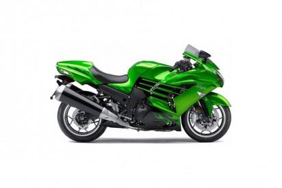 Kawasaki ZZR 1400 A 2014 grün