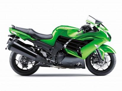 Kawasaki ZZR 1400 A 2015 Gruen