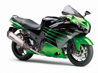 Kawasaki ZZR 1400 A Special Edition 2014 Gruen
