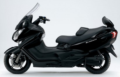 Suzuki Burgmann 650 ABS Executive 2014 Schwarz