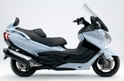 Suzuki Burgmann 650 ABS Executive 2014 Weiss