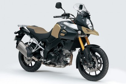 Suzuki DL 1000 V-Strom ABS - New Model 2014 khaki