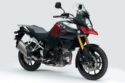 Suzuki DL 1000 V-Strom ABS - New Model 2014 Rot