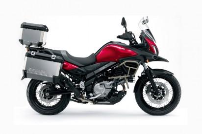 Suzuki DL 650 V-Strom XT ABS 2015 Rot