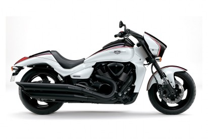 """Suzuki VZR 1800 L5 M1800R - Black Edition """"Boss"""" 2015 schwarz-weiss"""