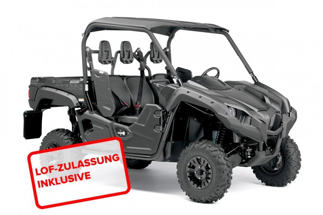 Yamaha Viking  Schwarz