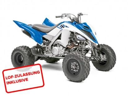 Yamaha YFM 700 R Raptor 2014 Blau-Weiss