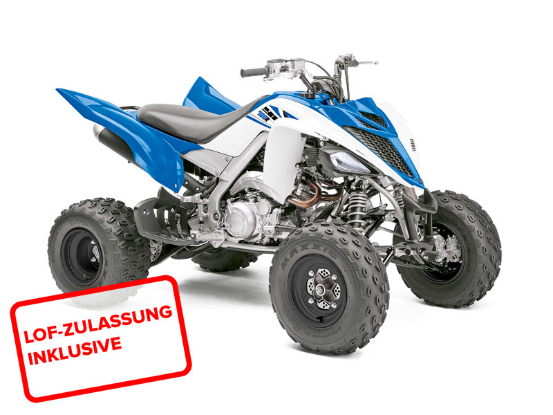 yamaha yfm 700 r raptor 2014 in blau weiss bei road. Black Bedroom Furniture Sets. Home Design Ideas