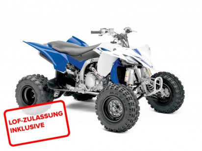 Yamaha YFZ 450 R Injection Model 2014 Blau-Weiss