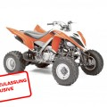 Yamaha YFM 700 R Raptor 2014 orange-weiss