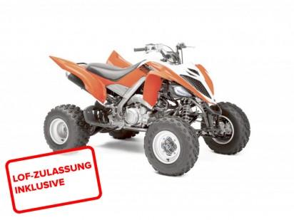 Yamaha YFM 700 R Raptor 2014 orange-weiss