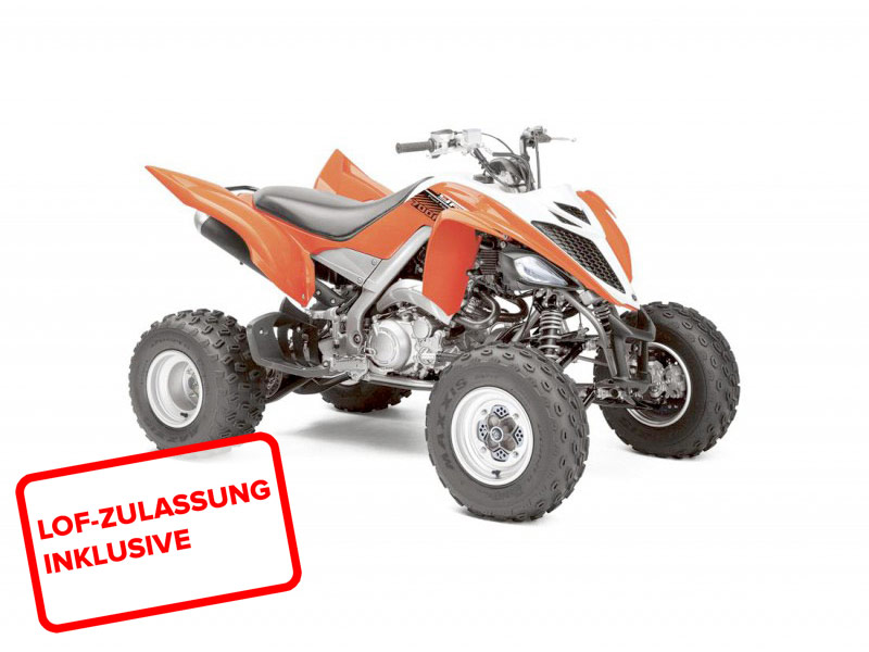Yamaha YFM 700 R Raptor 2014 in orange-weiss bei Road Monkeys kaufen ...