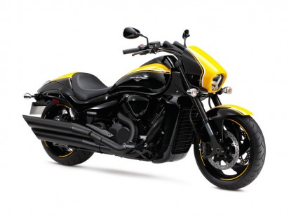 """Suzuki VZR 1800 L4 M1800R - Black Edition """"Boss"""" 2014 schwarz-gelb"""