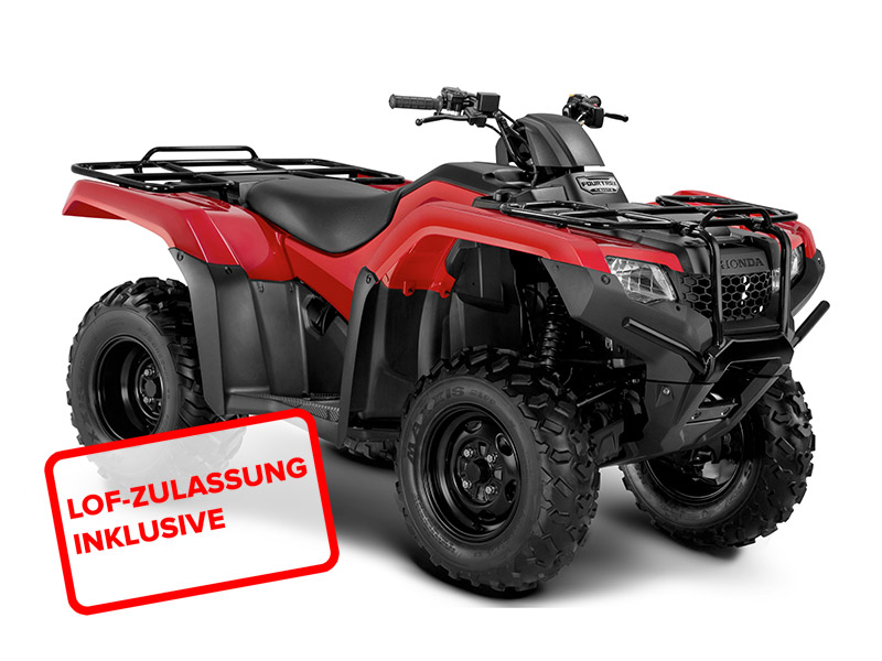 honda trx 420 fmf 2015 in rot bei road monkeys kaufen o finanzieren. Black Bedroom Furniture Sets. Home Design Ideas