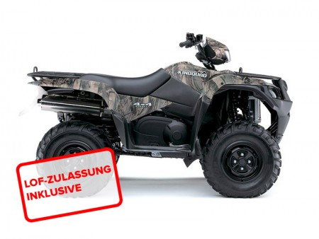 suzuki lta 750 l4 king quad 4x4 2014 in camouflage bei. Black Bedroom Furniture Sets. Home Design Ideas