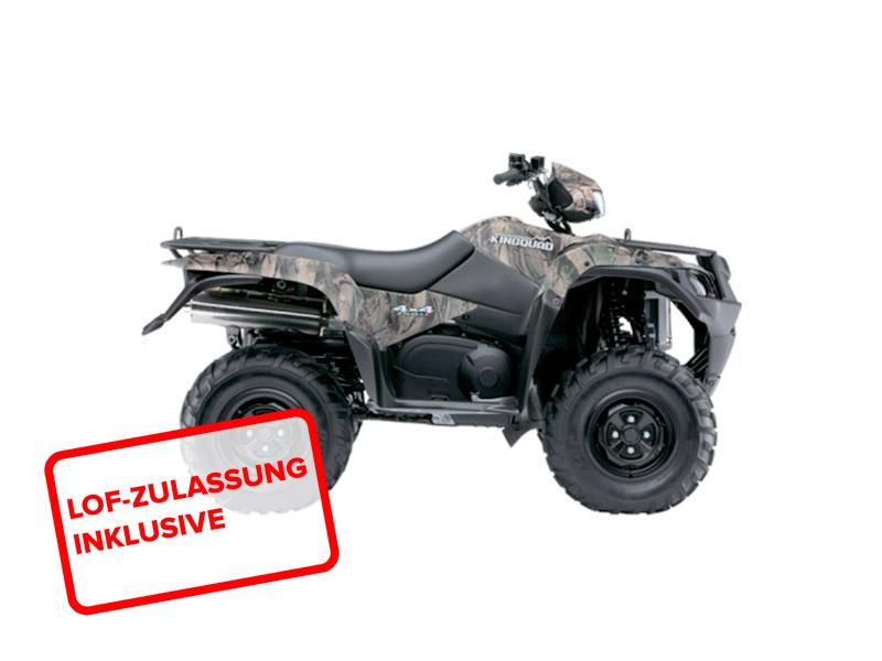 Suzuki KingQuad LTA 750 2015 in camouflage