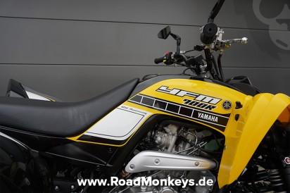 suzuki ltz 400 l4 quad sport 2014 in schwarz gelb bei road. Black Bedroom Furniture Sets. Home Design Ideas