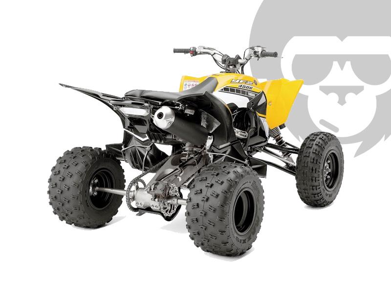 Yamaha YFM 700R Special Edition 2016 schwarz-gelb